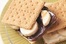 healthy snacks / by Ashley Blue