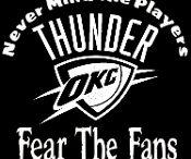 OKC Thunder / by Oline Riley