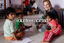 Volunteer work / by Angela Elwood