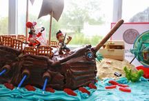 Jake and the neverland pirates party / by Tina Brown