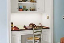 Built In Desk Nooks / by Bethany Nauert