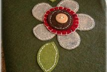 felt and fabric / Manualidades / by marissol theis