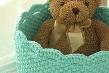 ♥ Crochet Cestas / Baskets / by Yayi Rsan