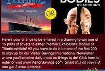 Visitor Savings International / Daily Deals on Fun Things To Do! / by 101ThingsToDo