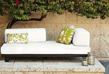 Outdoor sofa / by Jennifer Bird