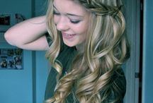 hairstyles I love / by Sydney Brause