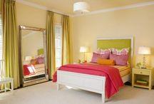 Happy Colours Bedroom / by Silvia Vanessa Vasquez Lamb
