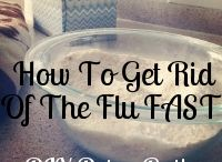 How to get over the flu / by Loryanna Satterlund