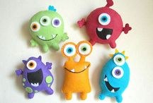 ideas for monsters / by Claire Fairall Designs
