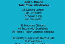 circuit workouts / by Tammy Warren-Melton