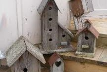 Birdhouses / by Martha Bartz