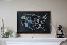 For My Walls / What I'll be filling my walls with... / by Steph :: Modern Parents Messy Kids