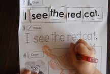 Sight word activities  / by Ashley Evans