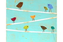 Birds Pre Crafts / Fun unit to teach young children about birds. Many of the ideas in this board are easy to combined in a lapbook. / by Carolin Chubinsky