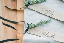 Escort Cards & Seating Plans / Ways to display the seating plan at a wedding. / by Brancoprata