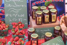 Farmer's market ideas & thoughts / by Sarah Hamlin