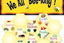 Bee theme classroom / by Robbie Hansen