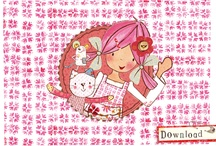 Emily Button Wallpapers / Brighten up your desktop / display with Emily's wallpapers.  / by Emily Button