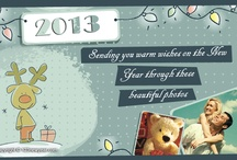 creative new year cards and valentines cards  / by Nupur Malik