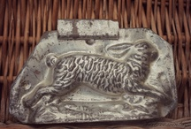 Easter molds and chalkware / by Michele Deocareza