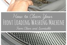 Cleaning a front loading washer / by Darlene Brock