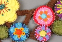 Felt and Embroidery projects / Ideas for felt and embroidery projects / by Bobbie Elfland