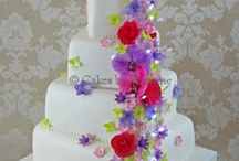 wedding cakes / by Ann Anderson
