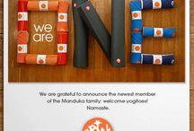yogitoes + Manduka = We Are One / yogitoes and Manduka coming together! / by yogitoes