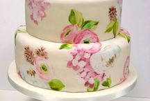 cakes and cupcakes / by LindsayandChad Holloway