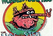 Underground Comics (alternate perspective) / by Georgia Godwin