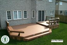 Deck Designs / by Kimberly Turner