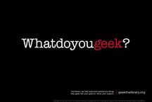 What do you GEEK? / by Salem-South Lyon District Library