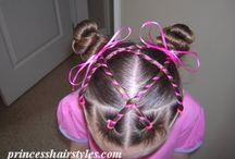 Pretty Hair Styles / Sharing pretty hairstyles we find that can work for you or your princess. / by My Fancy Princess -