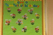 Birthday Wall / Classroom Birthday Wall - Ideas & inspirations / by Priya Kishore
