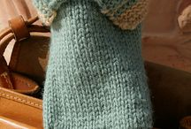 knit/crochet clothing kid/adult / by Tina Niesen