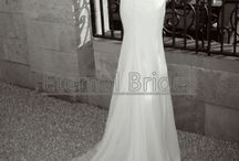 wedding gowns / by Linda Bailey