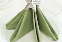 napkin folds / by Judy Beam