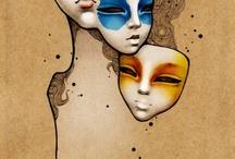 masks / by Kristin Brammann