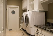 Laundry Rooms / by Sharon Potuer