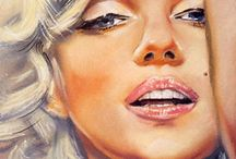 """Marilyn Monroe"" / by Debbie Gould"