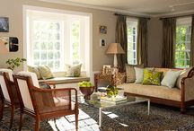 Living Room Ideas / by Elizabeth White-Monos