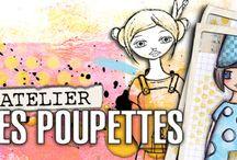 atelier  des  poupettes / by Laurence C