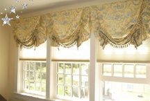 Home - Curtains/Drapes / Assorted Fabrics, Styles, Rods and Trim. / by Jewel Vine