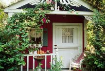 Gardening Sheds, Potting Rooms & More / by So Cheeky
