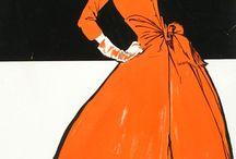 Little Orange Dress / by Kim Snider