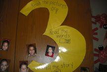 Daily 5 for kindergarten  / by Nicole Stevens Belford