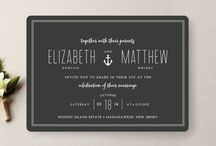 Invitations/Stationary / by Beth