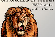 Chronicles of Narnia / Unit Studies, lessons plans, worksheets for Chronicles of Narnia series / by Danyel Beach