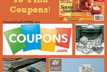 coupon tips / by Sadie Chenier