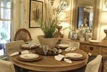 Breaking Bread Together / Dining room and table inspiration and ideas. / by Donna Maukonen